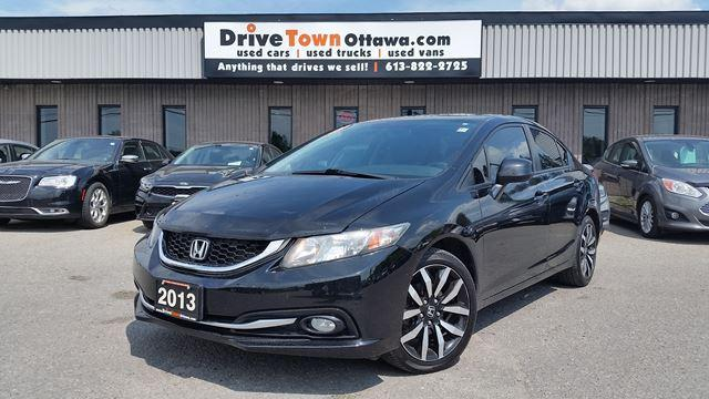 2013 Honda Civic Sedan TOURING, LEATHER, NAV, ROOF +++