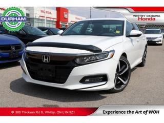 Used 2019 Honda Accord Sport 2.0T for sale in Whitby, ON