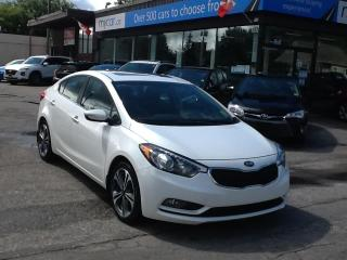 Used 2016 Kia Forte 2.0L EX SE SUNROOF, ALLOYS, HEATED SEATS, BACKUP CAM!! for sale in North Bay, ON