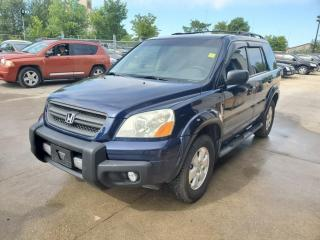 Used 2004 Honda Pilot 4WD LX Auto 8 Passenger for sale in Winnipeg, MB