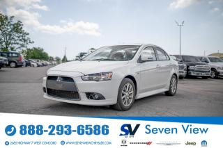 Used 2015 Mitsubishi Lancer SE LIMITED EDITION SUNROOF/SPOILER for sale in Concord, ON