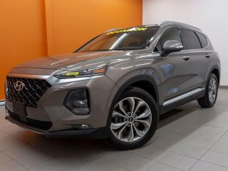 Used 2019 Hyundai Santa Fe AWD SIÈGE CHAUF / VENT CUIR ANGLE MORT *TOIT PANO* for sale in Mirabel, QC
