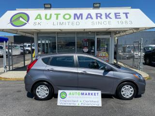 Used 2013 Hyundai Accent GLS HATCHBK! AUTO! HTD. SEATS! FREE BCAA MBRSHP & WRNTY! for sale in Langley, BC