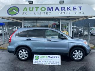 Used 2008 Honda CR-V EX 4WD AT FREE BCAA! FREE WRNTY! WE CAN FINANCE ANYONE! for sale in Langley, BC