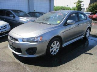 Used 2016 Mitsubishi Lancer ES for sale in Nanaimo, BC