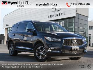 Used 2020 Infiniti QX60 PURE AWD  - Sunroof -  Heated Seats for sale in Ottawa, ON