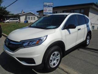 Used 2016 Honda CR-V LX for sale in Ancienne Lorette, QC