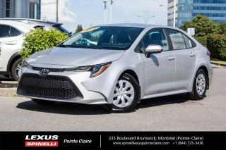 Used 2020 Toyota Corolla **COROLLA LE** *APPLE CARPLAY*CAMERA  RECUL*PREVENTION COLLISION ET DÉTECTEUR CHANGEMENT DE VOIE*GROUPE ELECTRIQUE* for sale in Montréal, QC