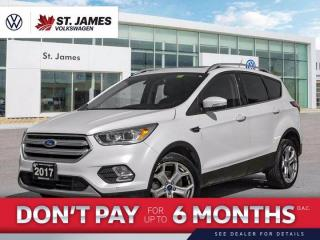 Used 2017 Ford Escape Titanium, Push to Start, Backup Camera, Navigation for sale in Winnipeg, MB