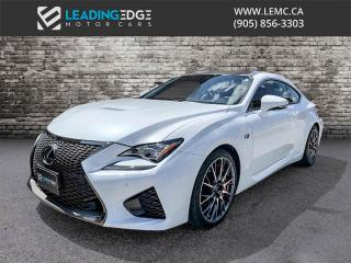Used 2017 Lexus RC F Performance Package for sale in Woodbridge, ON