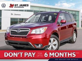 Used 2016 Subaru Forester i Touring for sale in Winnipeg, MB
