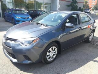 Used 2016 Toyota Corolla CE * BAS MILLAGE for sale in Longueuil, QC