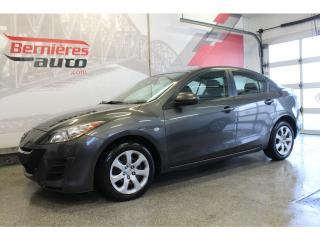 Used 2010 Mazda MAZDA3 GS for sale in Lévis, QC