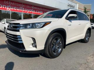 Used 2018 Toyota Highlander Hybrid AWD Limited for sale in Longueuil, QC