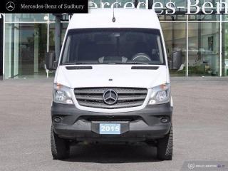 Used 2015 Mercedes-Benz Sprinter Cargo Vans Cargo 144 WB for sale in Sudbury, ON