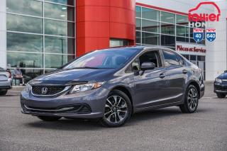 Used 2015 Honda Civic EX P5123  GRIS for sale in Terrebonne, QC