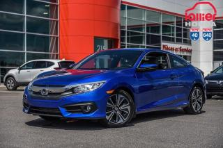 Used 2018 Honda Civic EX-T S2768  BLEU for sale in Terrebonne, QC