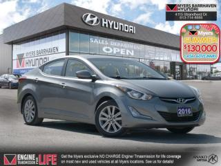 Used 2016 Hyundai Elantra Sport Appearance  - Sunroof - $96 B/W for sale in Nepean, ON