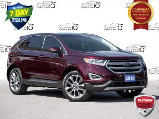 Used 2018 Ford Edge Titanium Panoramic Sunroof | Navigation | 20