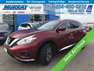 Used 2017 Nissan Murano **New Tires* Heated Leather Seats* Heated Steering for sale in Brandon, MB