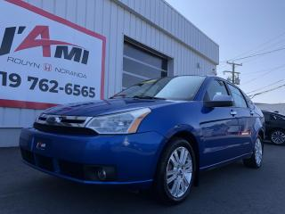 Used 2010 Ford Focus 4DR SDN SEL for sale in Rouyn-Noranda, QC