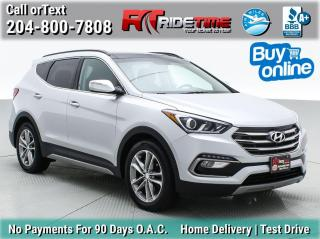 Used 2017 Hyundai Santa Fe Sport Limited for sale in Winnipeg, MB
