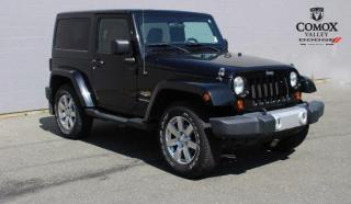 Used 2012 Jeep Wrangler 4WD 2DR SAHARA for sale in Courtenay, BC