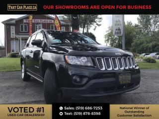 Used 2014 Jeep Compass Sport/North ABS brakes, Alloy wheels, Electronic Stability Control, Low tire pressure warning, Traction control. for sale in London, ON