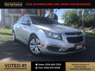 Used 2015 Chevrolet Cruze 1LT Sunroof, New Tires, 6 Speaker System, Bluetooth for Chevrolet MyLink, USB Port. for sale in London, ON