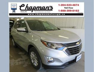 New 2020 Chevrolet Equinox LT Remote Start, Heated Seats, HD Rear Vision Camera for sale in Killarney, MB