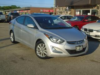 Used 2015 Hyundai Elantra Auto Sport NO ACCIDENT SUNROOF ALLOY 4 NEW TIRES+B for sale in Oakville, ON