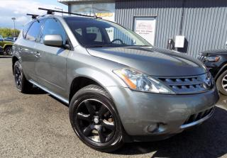 Used 2007 Nissan Murano ***SL,AWD.CUIR,TOIT PANO,A/C*** for sale in Longueuil, QC