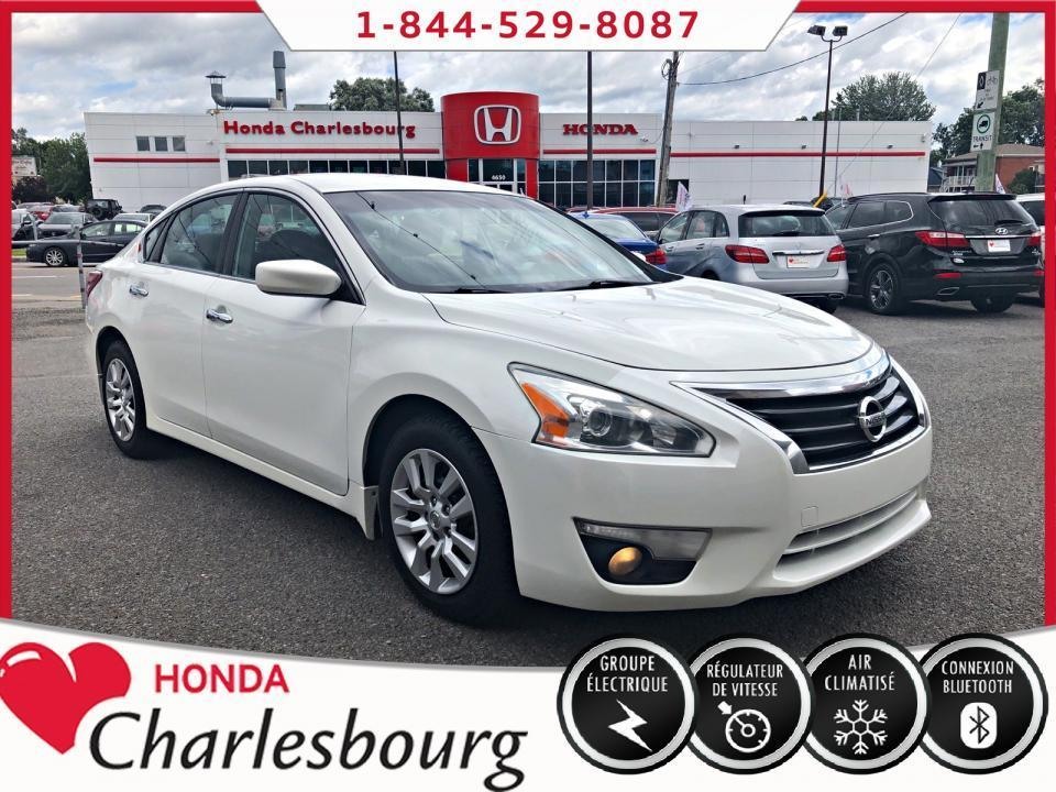 used 2013 nissan altima 2.5 s automatique bluetooth for sale in charlesbourg, quebec carpages.ca
