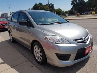 Used 2010 Mazda MAZDA5 GS-MINT-124K-6 SEATS-BLUETOOTH- GAS SAVER-ALLOYS for sale in Scarborough, ON
