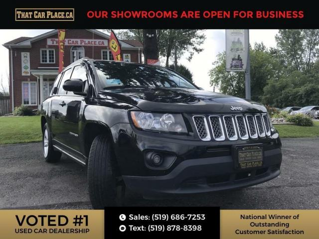 2014 Jeep Compass Sport/North ABS brakes, Alloy wheels, Electronic Stability Control, Low tire pressure warning, Traction control.