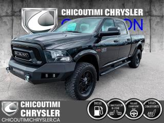 Used 2018 RAM 1500 SLT cabine d'équipe 4x4 caisse de 6 pi 4 for sale in Chicoutimi, QC