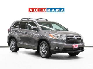 Used 2016 Toyota Highlander Hybrid XLE AWD Hybrid Nav Leather Sunroof Bcam for sale in Toronto, ON