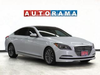 Used 2016 Hyundai Genesis AWD V6 Luxury Nav Leather PanoRoof Bcam for sale in Toronto, ON