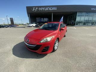 Used 2010 Mazda MAZDA3 4dr Sdn Man GS,A/C,CRUISE,MAGS,BLUETOOTH for sale in Mirabel, QC