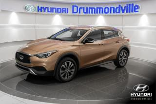 Used 2017 Infiniti QX30 AWD + GARANTIE + CAMERA + MAGS + CUIR + for sale in Drummondville, QC