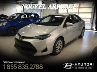 Used 2018 Toyota Corolla LE + GARANTIE + CAMERA + CRUISE + A/C + for sale in Drummondville, QC