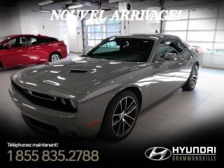 Used 2018 Dodge Challenger R/T + GARANTIE + 34 722 KM + WOW! for sale in Drummondville, QC