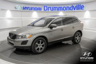 Used 2013 Volvo XC60 T6 AWD + GARANTIE + CUIR + TOIT PANO + A for sale in Drummondville, QC