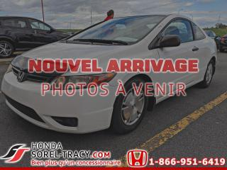 Used 2008 Honda Civic 2 portes, boîte automatique, DX-G for sale in Sorel-Tracy, QC