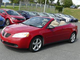 Used 2006 Pontiac G6 V6 CONVERTIBLE TOIT RIGIDE JAMAIS ACCIDE for sale in St-Georges, QC