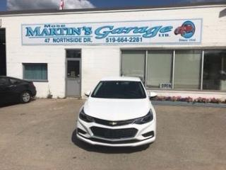 Used 2017 Chevrolet Cruze LT for sale in St. Jacobs, ON