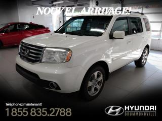 Used 2012 Honda Pilot EX-L 4WD + GARANTIE + TOIT + MAGS + CUIR for sale in Drummondville, QC