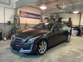 Used 2014 Cadillac CTS Sedan 4dr Sdn 2.0L Turbo Premium AWD for sale in Kingston, ON