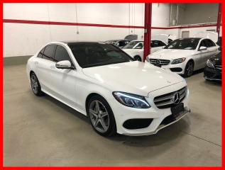 Used 2017 Mercedes-Benz C-Class C300 4MATIC PREMIUM PLUS SPORT ACTIVE LED 360 for sale in Vaughan, ON