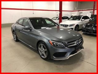 Used 2017 Mercedes-Benz C-Class C300 4MATIC BURMESTER PREMIUM SPORT LED for sale in Vaughan, ON